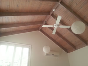 Limed Washed Ceiling