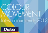 dulux colour movement