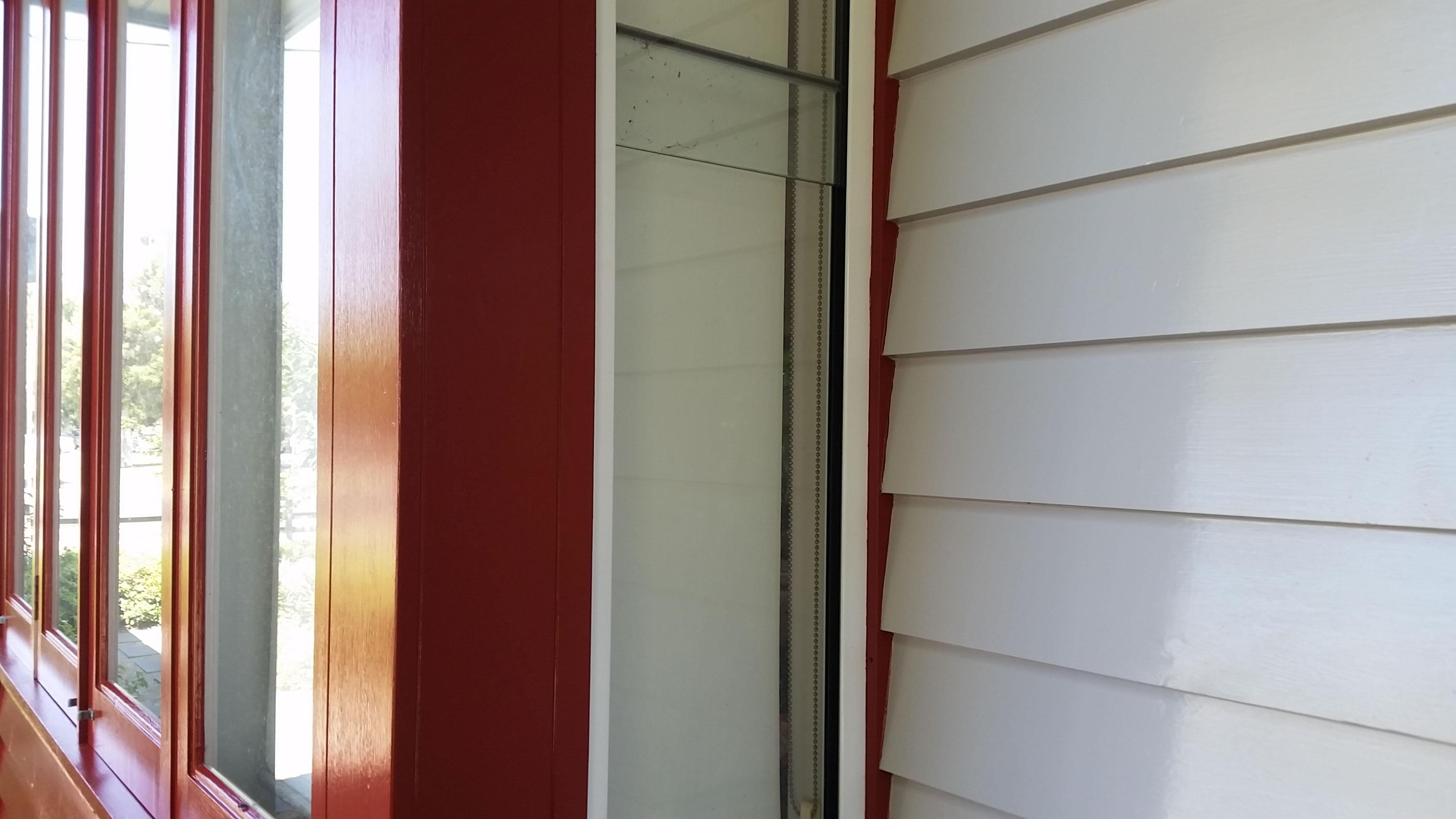 weatherboard house painters