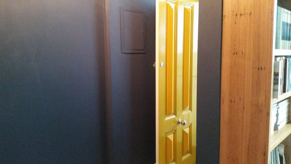 yellow front door painters