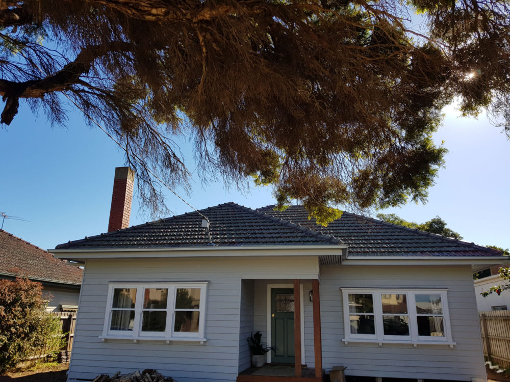 Weatherboard House Painting
